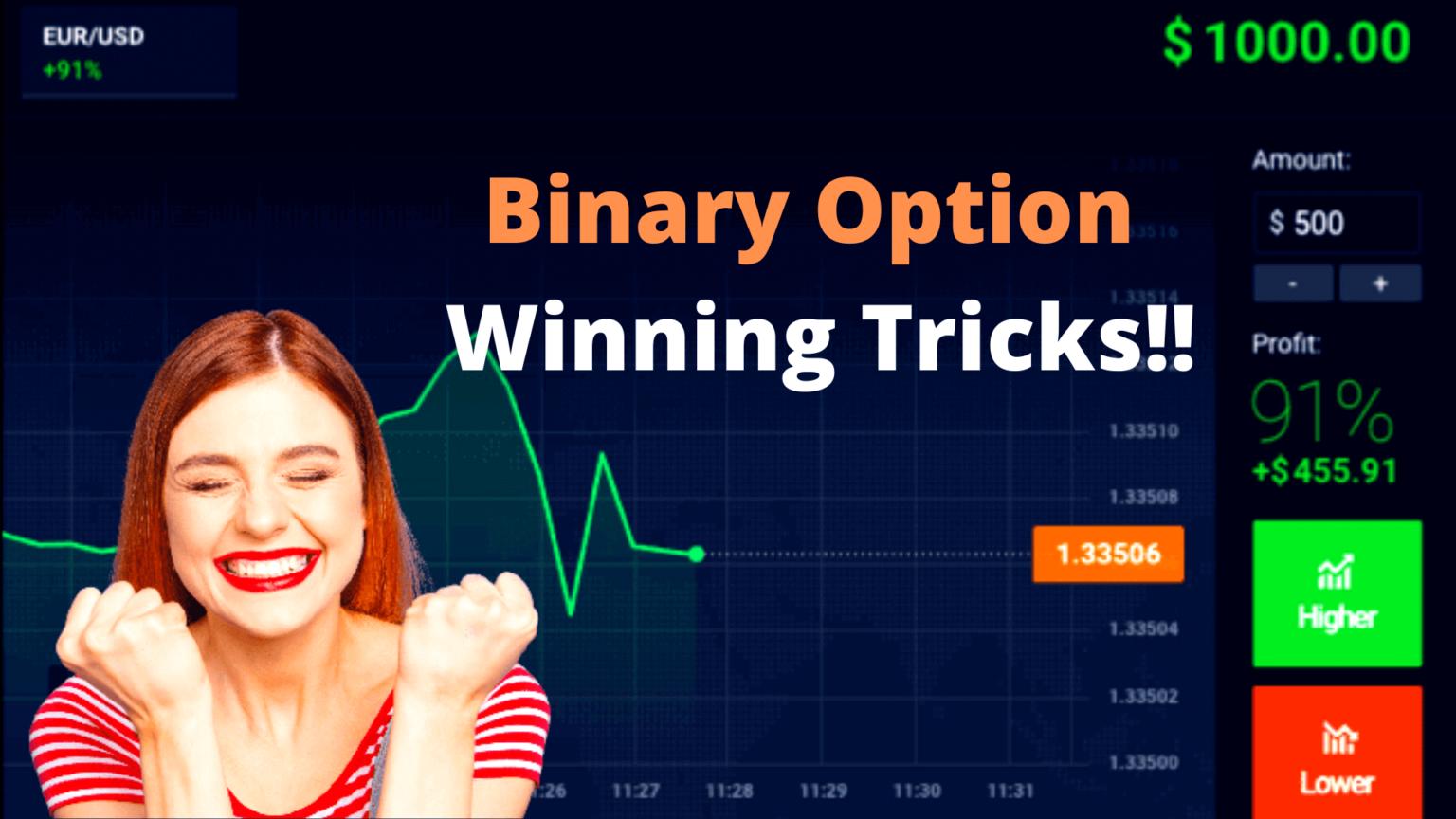 Learn Binary Option Winning Tricks