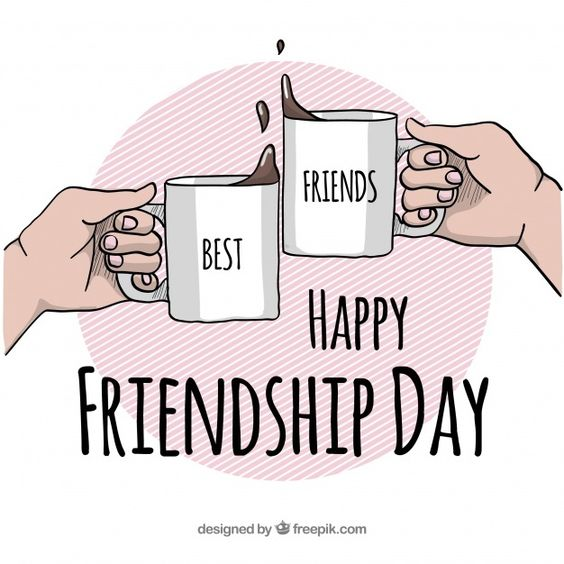 Happy friendship day wallpaper 2021