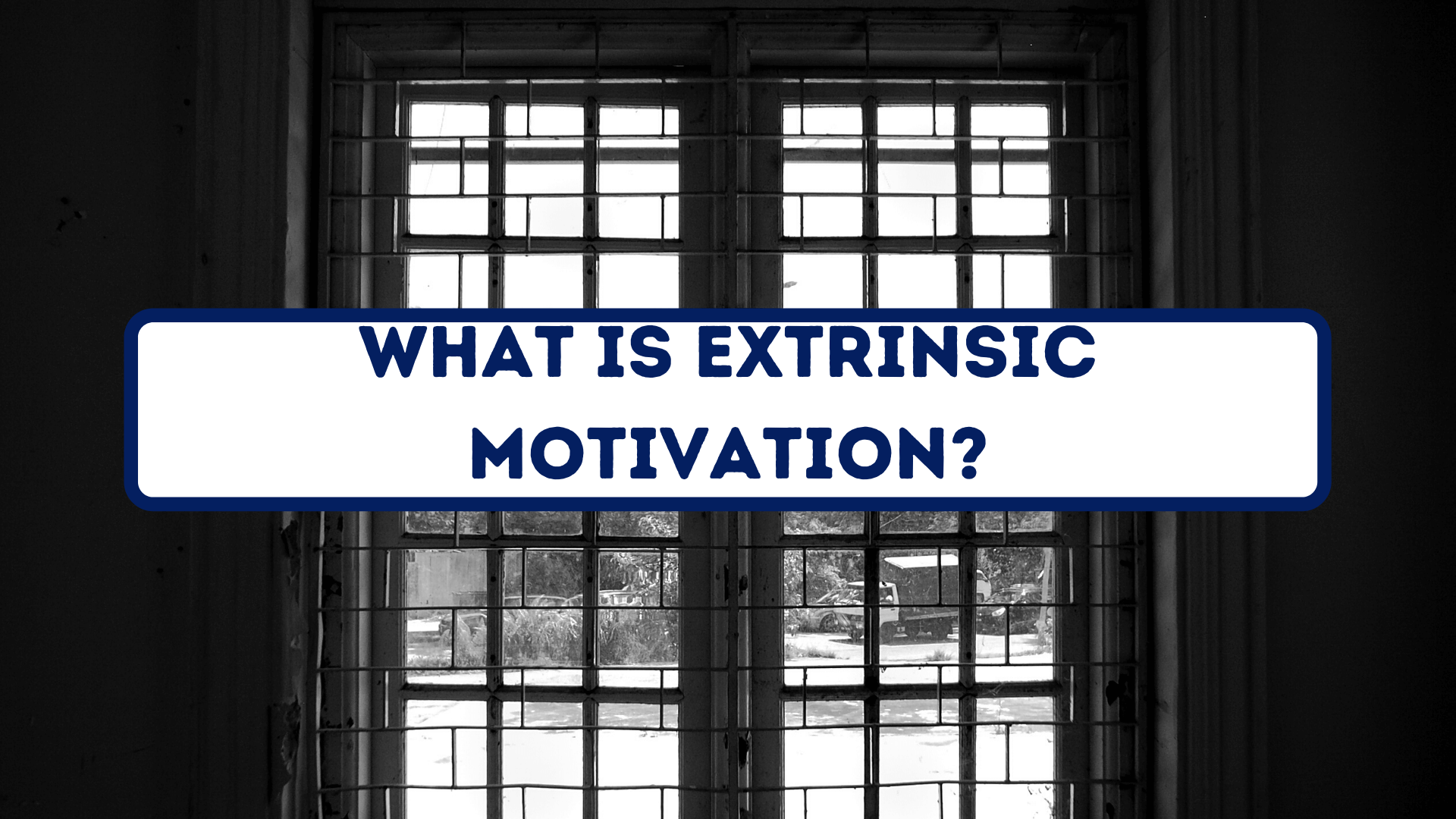 What Is Extrinsic Motivation